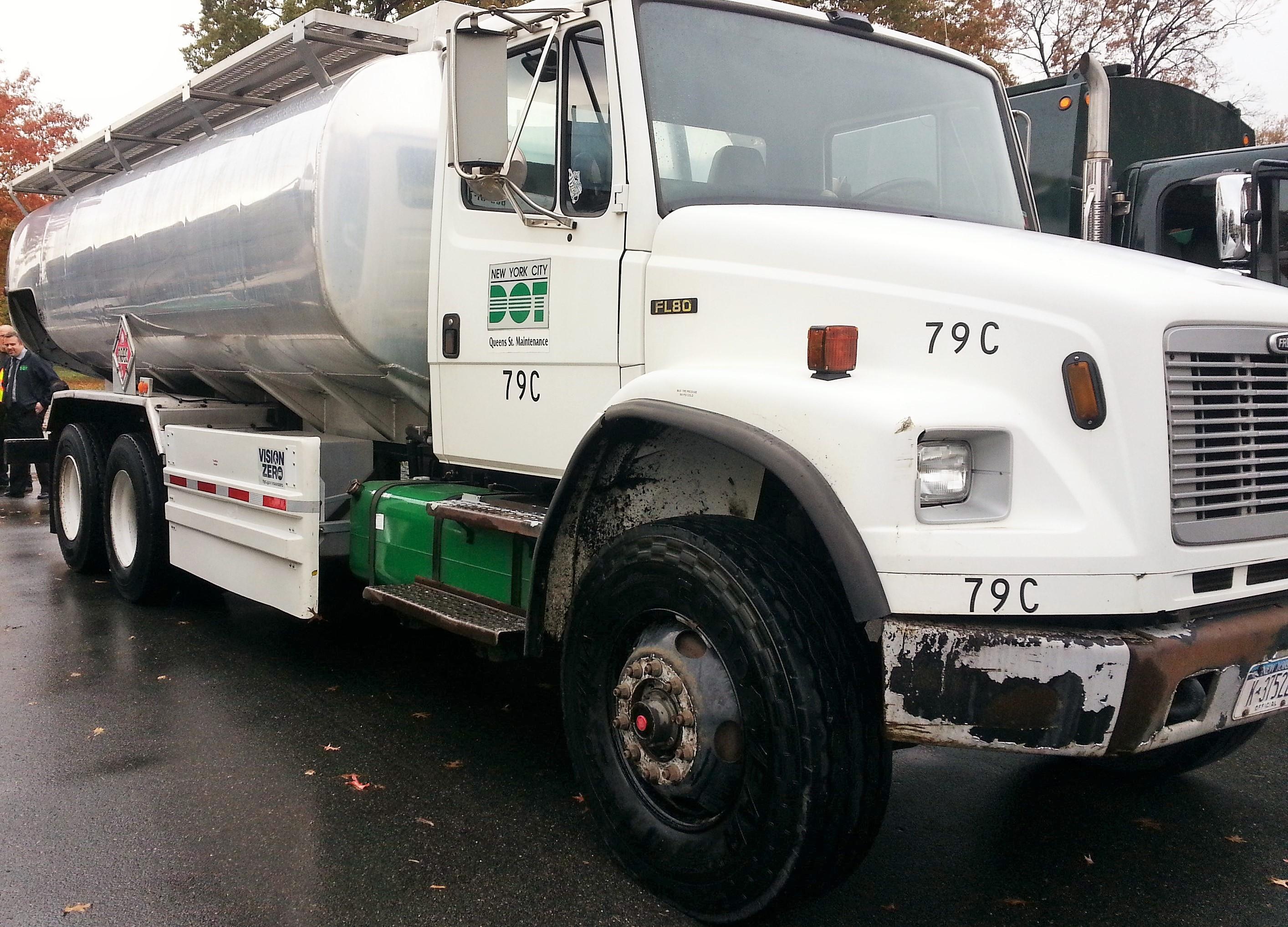 Hunts Point Clean Truck Program