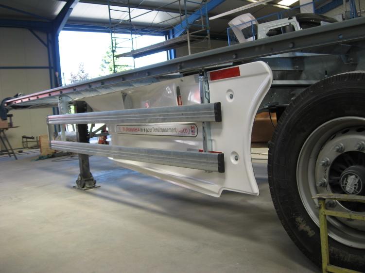 Truck Rail barrier