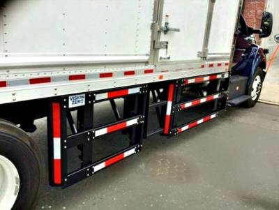 Underride 2 on semi truck guard